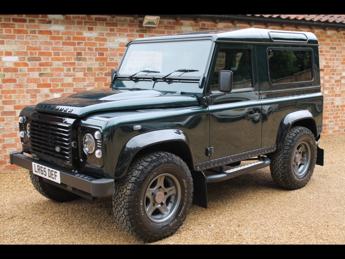 "land rover defender 90 xs 2.2 td ""black edition"" full leather"